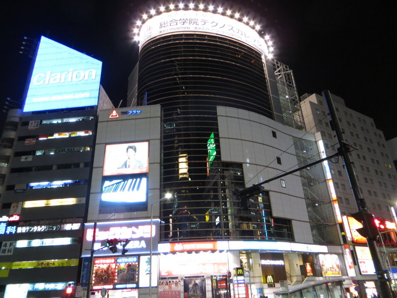 Like big buildings and pretty lights? You need to go to Tokyo.
