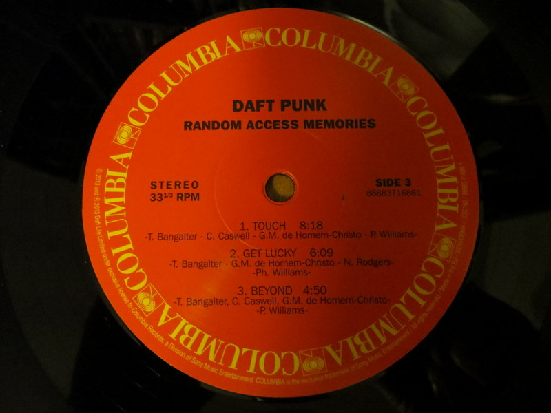 Vinyl Review: Daft Punk – Random Access Memories | Mostly Retro