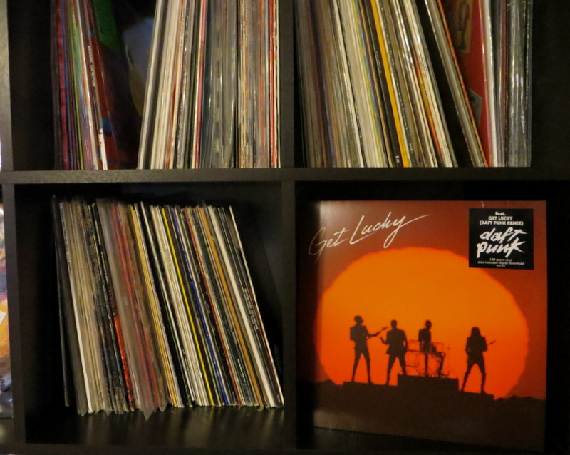 Vinyl Review Daft Punk Get Lucky Single Mostly Retro - Songs like get lucky daft punk popular
