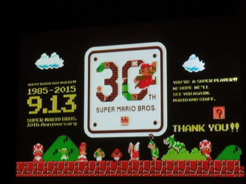 Super mario bros th anniversary festival mostly retro