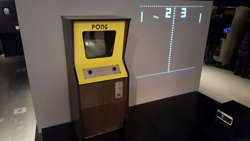 I couldn't play VR. But there was Pong!