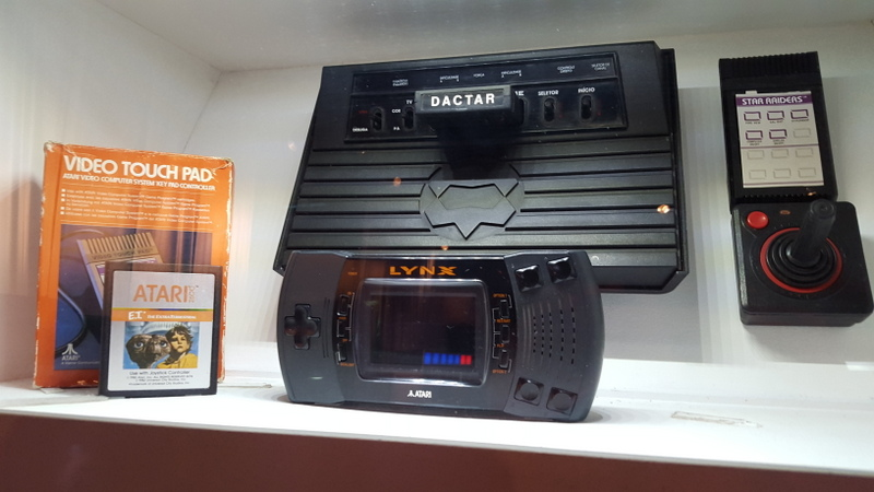 The Brazilian Atari 2600. Weird.